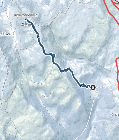 Map / Juribrutto Peak