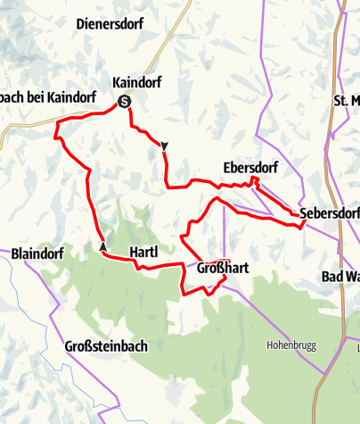 Karte / Ökoregion Kaindorf Genuss-Tour