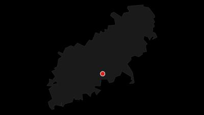 Karte / BurgFelsenPfad im Lautertal