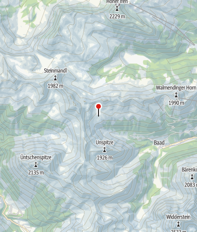 Map / Starzelalp (unbewirtschaftet)