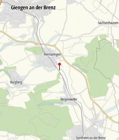 Karte / Brenzrenaturierung mit Aussichtsturm