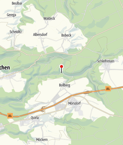 Karte / Papiermühle Zeitzgrund