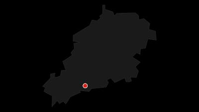 Karte / Barocke Jagdanlage Rieseneck und Blasehaus