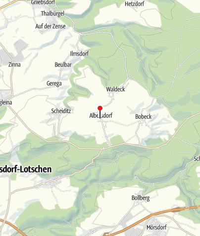 Karte / Kegelbahn Albersdorf - Gasthof Albersdorf
