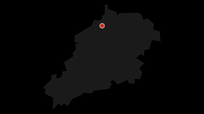 Karte / Dornburger Schlösser - Altes Schloss, Renaissanceschloss, Rokokoschloss
