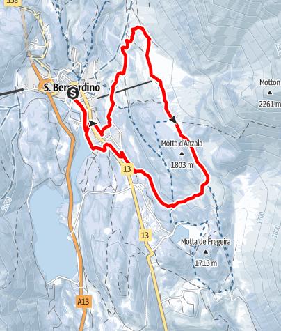 Karte / 301 - Pian Cales