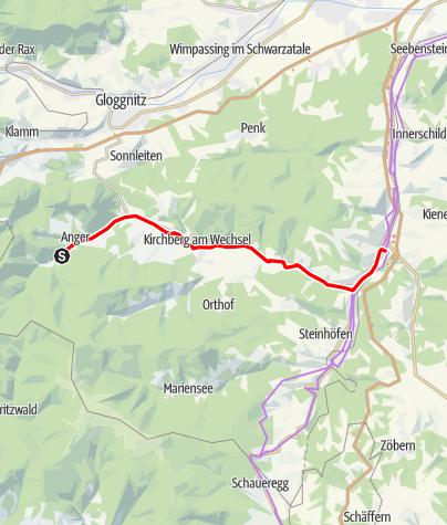 Map / F/LIST feistritztallauf