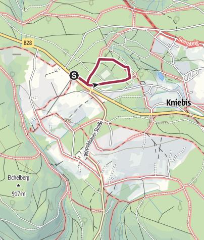 Karte / Das Räuberwegle