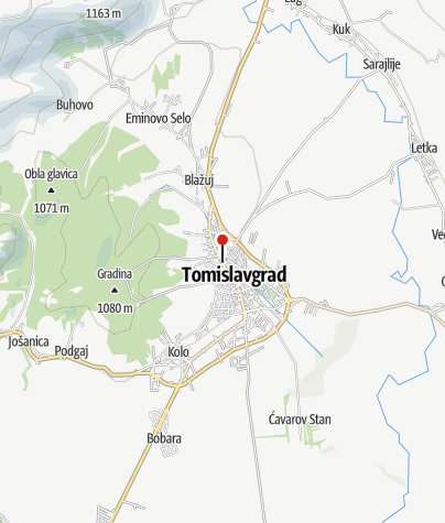 Map / Mountain Club Orlova Stina