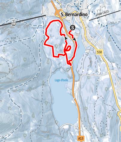 Karte / Pista Fracch