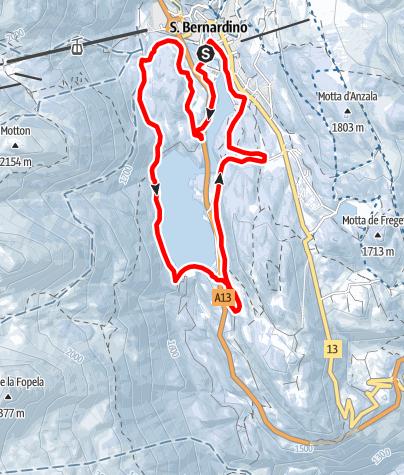 Map / 260 Pista Fracch–Diga