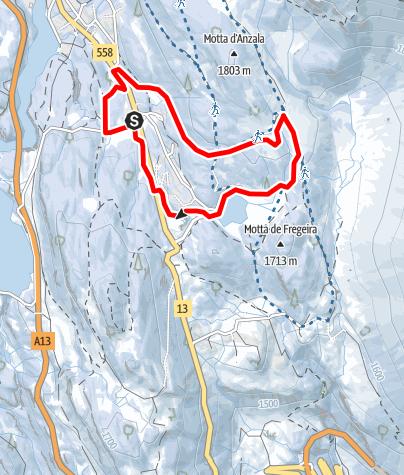 Kaart / 261 - Pista Pian Doss