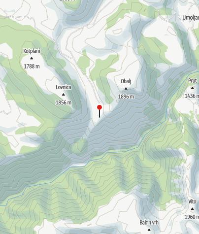Map / Mountain house Natura AS
