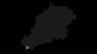 Karte / Floßfahrt auf der Saale von Unterhasel bis Uhlstädt