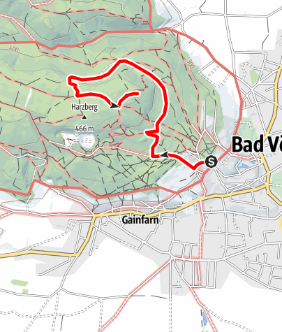 Map / Harzberg - Variante 2