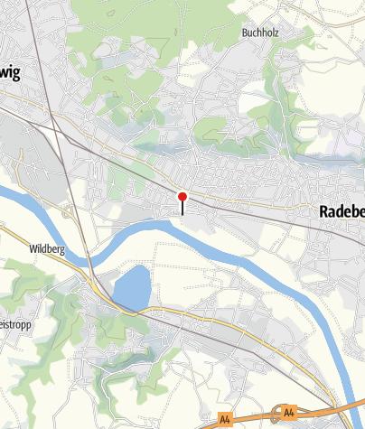 Karte / Hotel Goldener Anker Radebeul