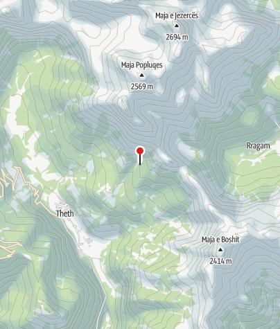 Map / Kafe Zef Deda Gjela