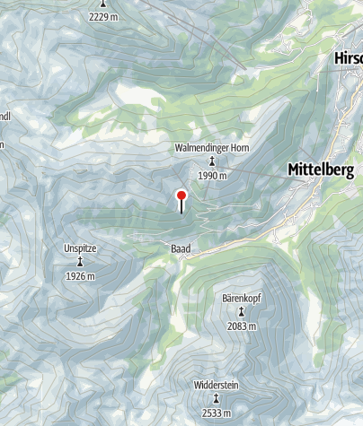 Map / Untere Lüchlealp