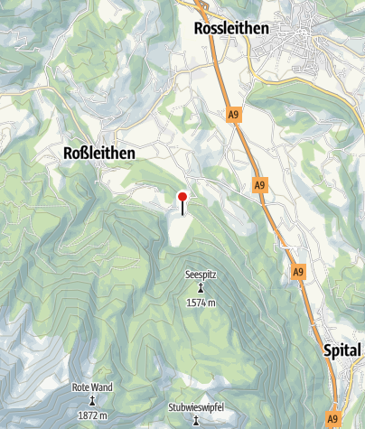 Karte / Gleinkersee 806m
