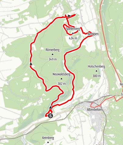 Karte / Wildnis-Steig