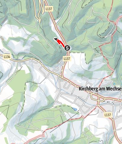Térkép / Themenweg Hermannshöhle