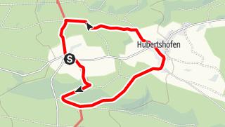 Karte / Rundweg Mistelbrunn-Hubertshofen