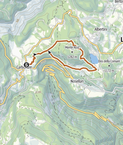 Karte / 6 - Giro del Rust