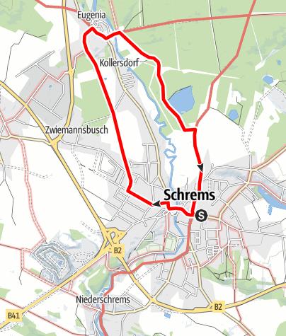 Mapa / Alleeschleife