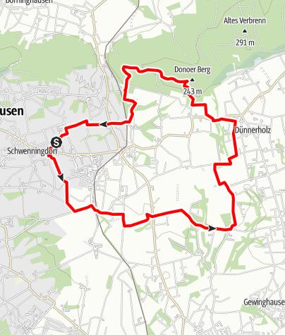 Karte / Von der Bürger-Solaranlage zur Großen Aue