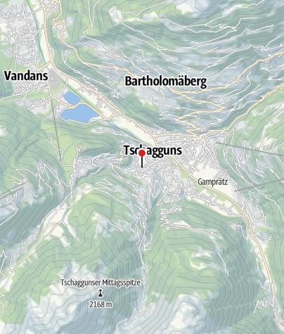 Karte / Ferienwohnung Flanuf