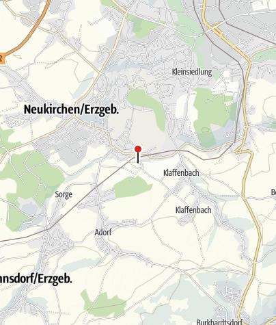 Karte / Schloßhotel Klaffenbach