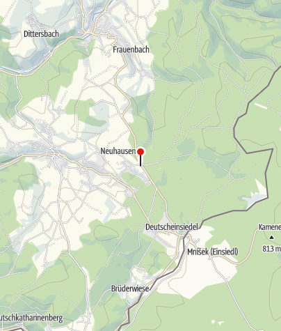 Karte / Hotel Berghof