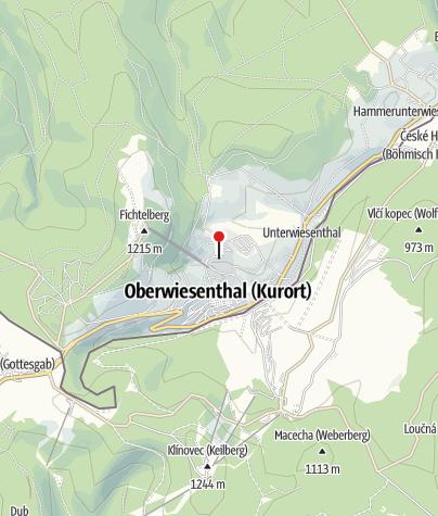 Karte / BEST WESTERN Ahorn Hotel Oberwiesenthal