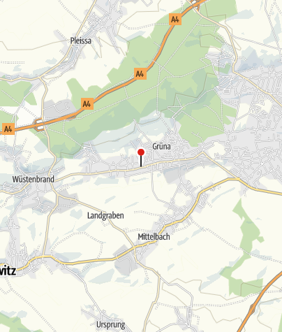 Karte / Hotel Grünaer Hof
