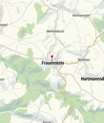 Karte / Hotel Goldener Stern Frauenstein
