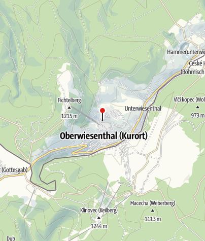 Map / Best Western Ahorn Hotel Oberwiesenthal