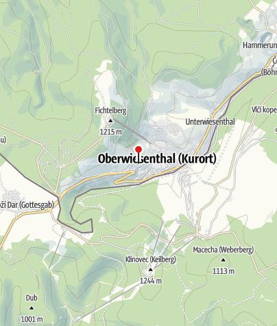 Map / AHORN Hotel Am Fichtelberg