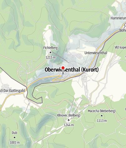 Karte / Fewo am Fichtelberg
