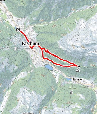 Map / Tafamunt-Trail