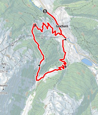 Karte / Ganeumaisäß-Runde