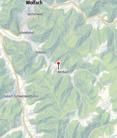 Karte / Kirnbacher Bollenhut Talwegle - Skulptur