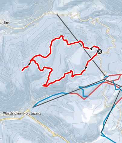 Carte / Schneeschuhwanderung zum Schillerhof