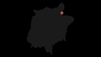 Map / Hike to Rifugio Maria al Sass Pordoi