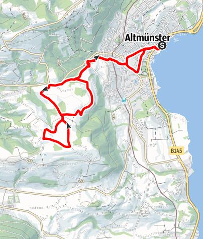 Karte / RUNNERSFUN Runde