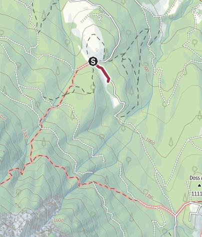 Cartina / Passeggiata al Rifugio La Madonnina