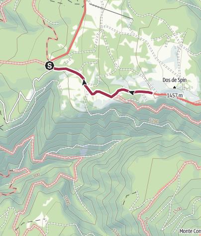 Karte / Wanderung zur Schutzhütte Predaia Ai Todes'Ci