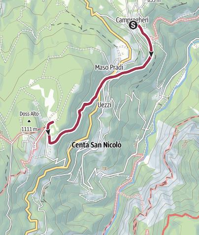 Map / Passeggiata al Rifugio Paludei