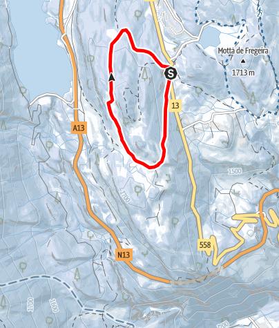 Cartina / Furestin- itinerario invernale (#1)