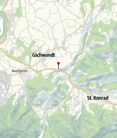 Karte / WONDER-ICE® Eisstockbahn Landgasthaus Rabl