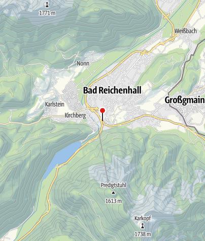 Karte / Bad Reichenhall Tiroler Tor